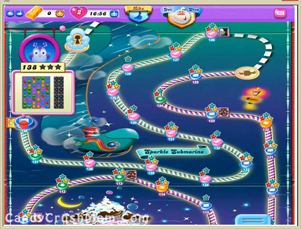 Candy Crush Dreamworld Level 138