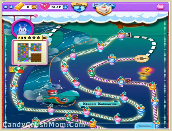 Candy Crush Dreamworld Level 139