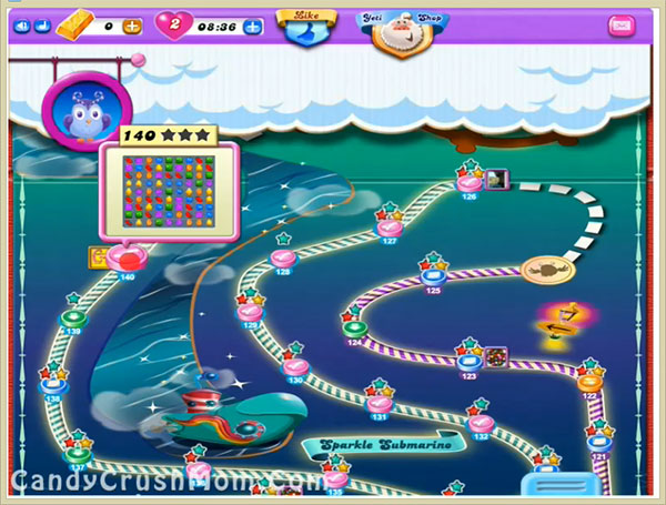 Candy Crush Dreamworld Level 140