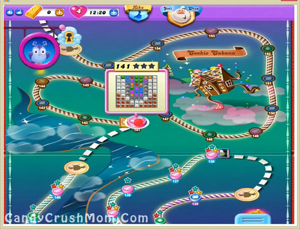 Candy Crush Dreamworld Level 141