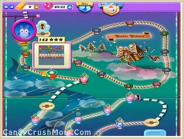 Candy Crush Dreamworld Level 142