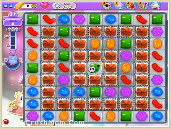 Candy Crush Dreamworld Level 143