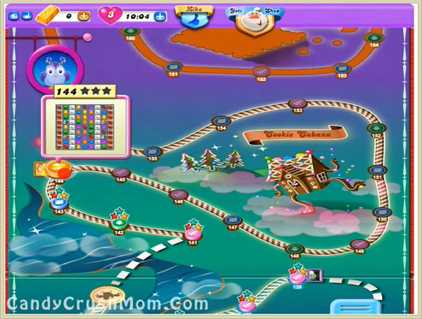 Candy Crush Dreamworld Level 144