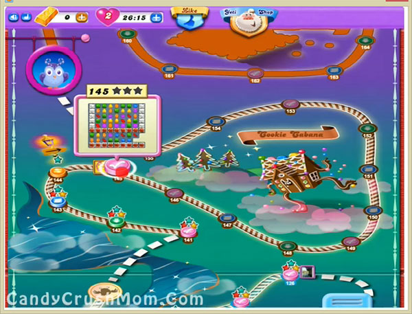 Candy Crush Dreamworld Level 145