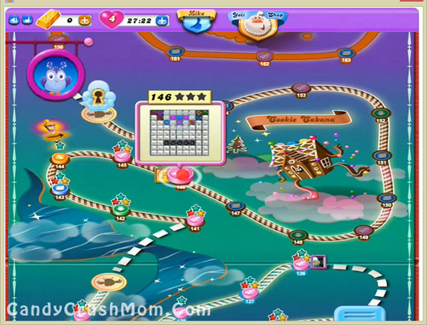 Candy Crush Dreamworld Level 146