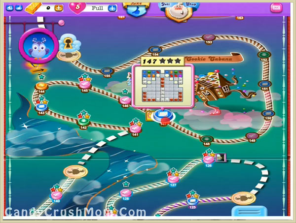 Candy Crush Dreamworld Level 147