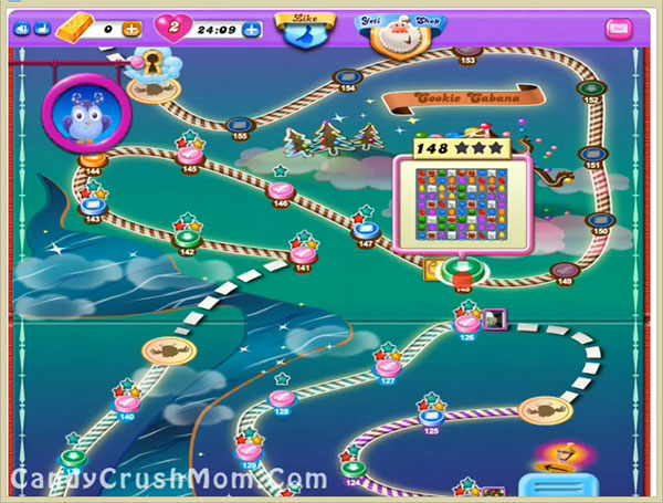 Candy Crush Dreamworld Level 148