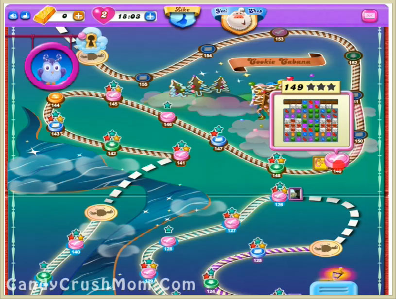 Candy Crush Dreamworld Level 149