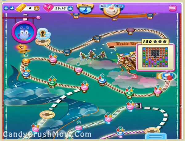 Candy Crush Dreamworld Level 150