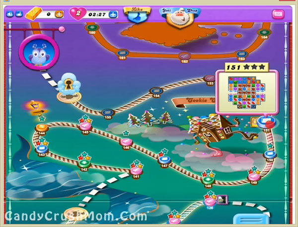 Candy Crush Dreamworld Level 151