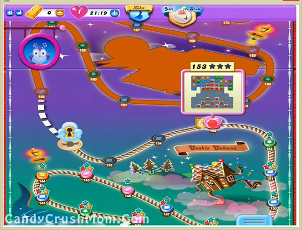 Candy Crush Dreamworld Level-153