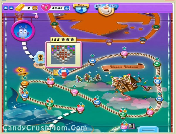 Tips and Walkthrough: Candy Crush Dreamworld Level 155