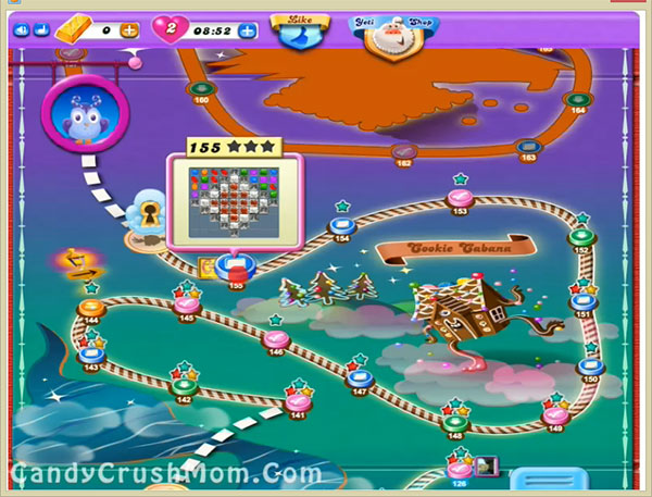 Candy Crush Dreamworld Level 155