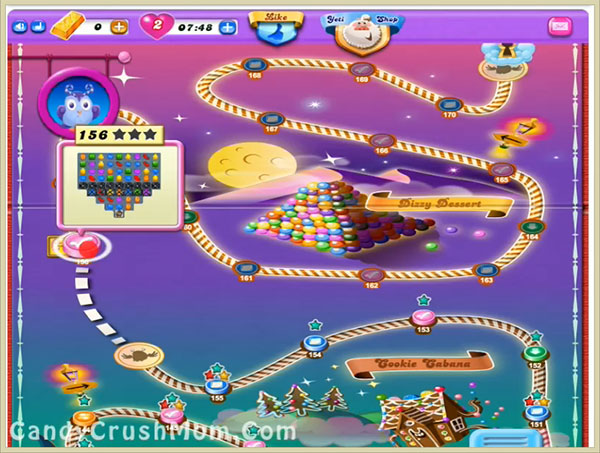Candy Crush Dreamworld Level 156