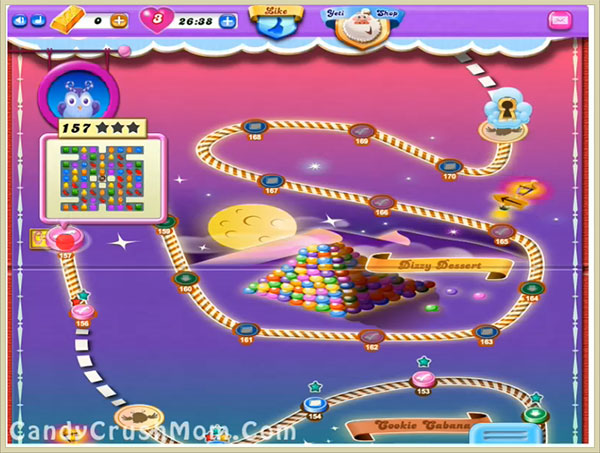 Candy Crush Dreamworld Level 157