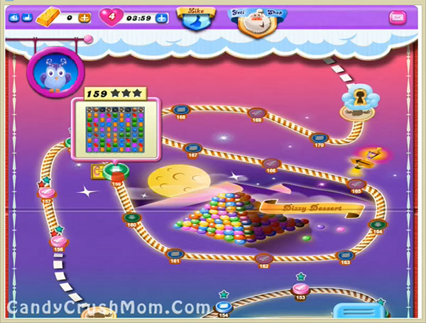 Candy Crush Dreamworld Level 159
