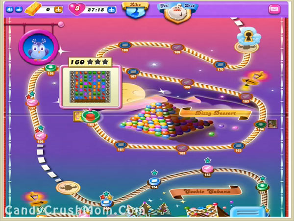 Candy Crush Dreamworld Level 160
