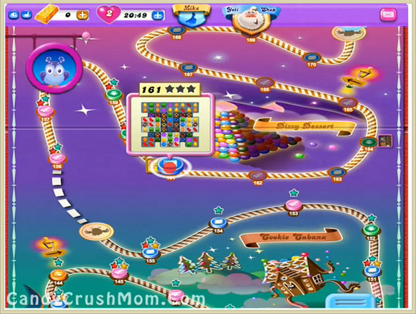 Candy Crush Dreamworld Level 161