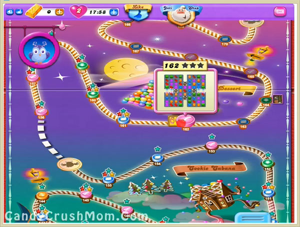 Candy Crush Dreamworld Level 162