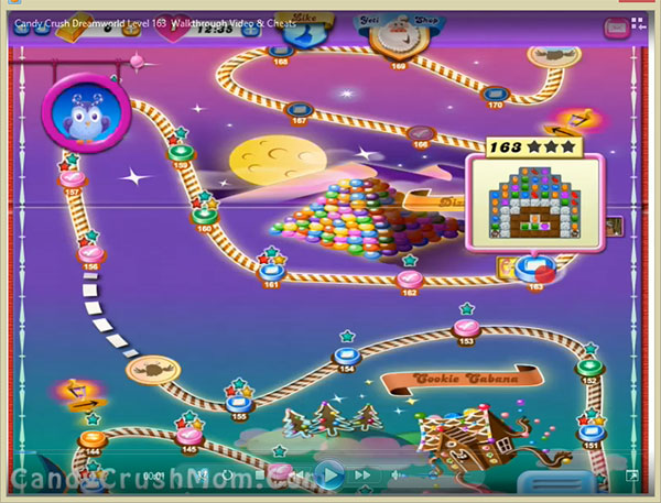 Candy Crush Dreamworld Level 163