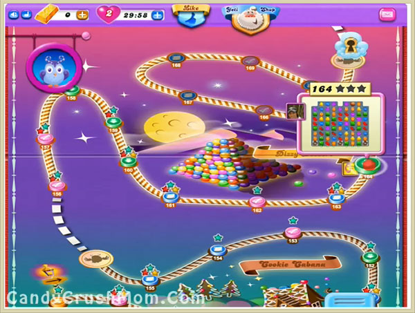 Candy Crush Dreamworld Level 164