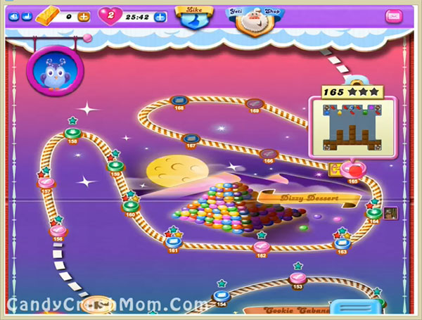 Candy Crush Dreamworld Level 165