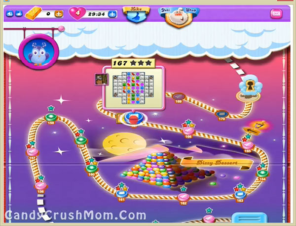 Candy Crush Dreamworld Level 167