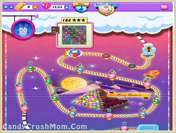 Candy Crush Dreamworld Level 168