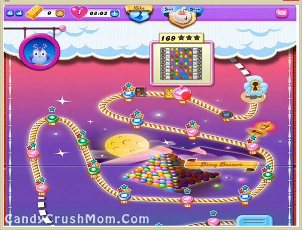 Candy Crush Dreamworld Level 169