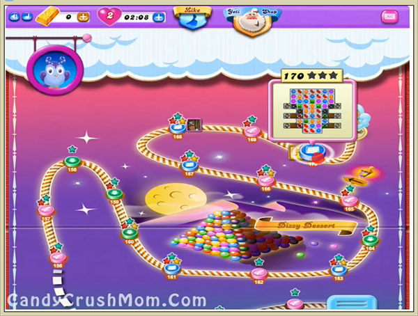 Candy Crush Dreamworld Level 170