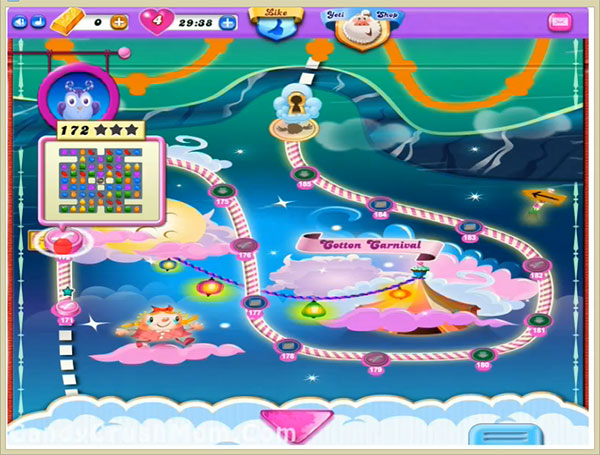 Candy Crush Dreamworld Level 172