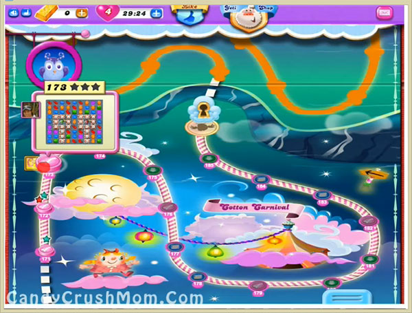 Candy Crush Dreamworld Level 173