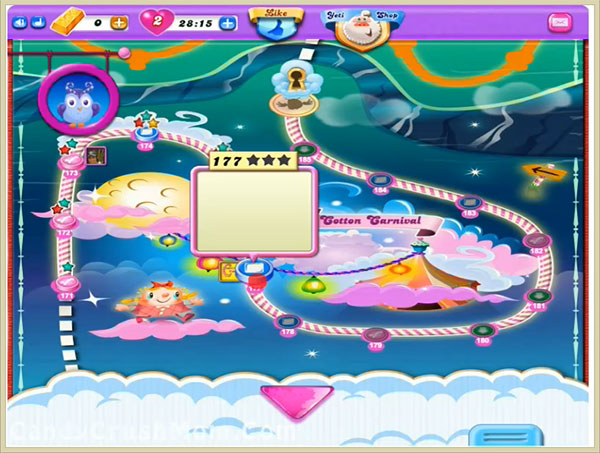 Candy Crush Dreamworld Level 177