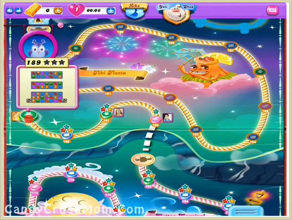 Candy Crush Dreamworld Level 189