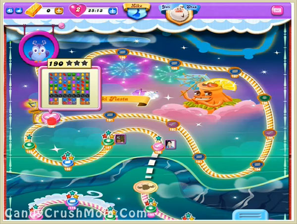 Candy Crush Dreamworld Level-190