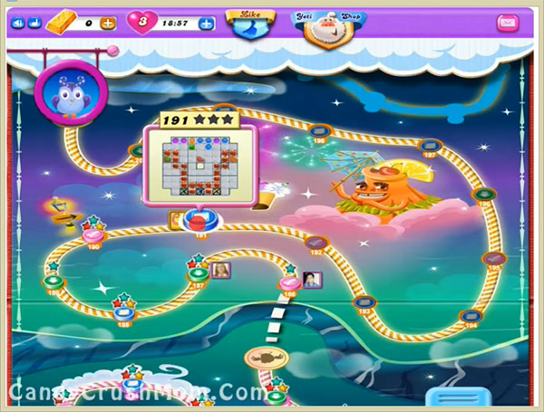 Candy Crush Dreamworld Level 191