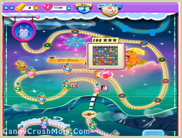 Candy Crush Dreamworld Level 192