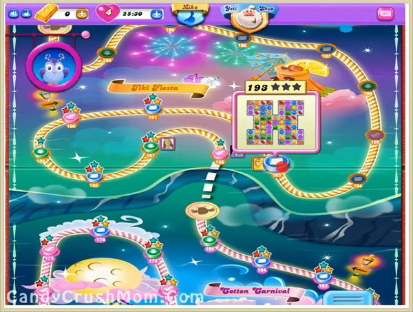 Candy Crush Dreamworld Level 193