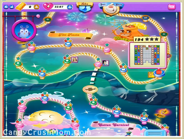 Candy Crush Dreamworld Level 194