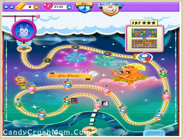 Candy Crush Dreamworld Level 197