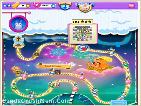Candy Crush Dreamworld Level 198