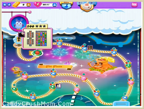 Candy Crush Dreamworld Level 200
