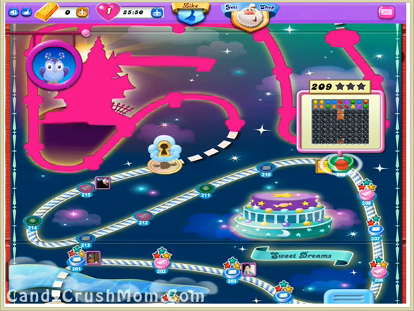 Candy Crush Dreamworld Level 209