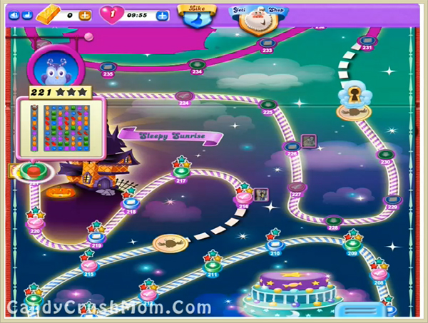 Candy Crush Dreamworld Level 221