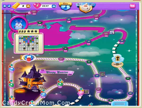 Candy Crush Dreamworld Level 223