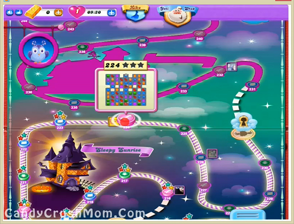 Candy Crush Dreamworld Level 224