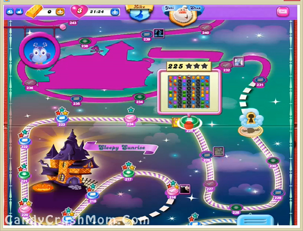 Candy Crush Dreamworld Level 225