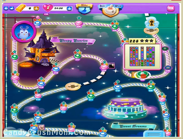 Candy Crush Dreamworld Level 228