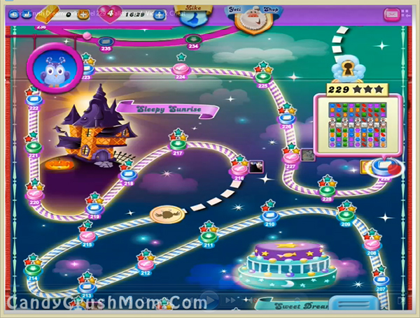 Candy Crush Dreamworld Level 229