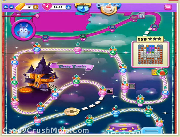 Candy Crush Dreamworld Level 230